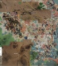Wall Map Mural - Pinal County
