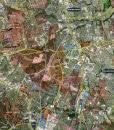 "2017 Austin Wall Map Mural – Standard Print Scale (71""x90"")"