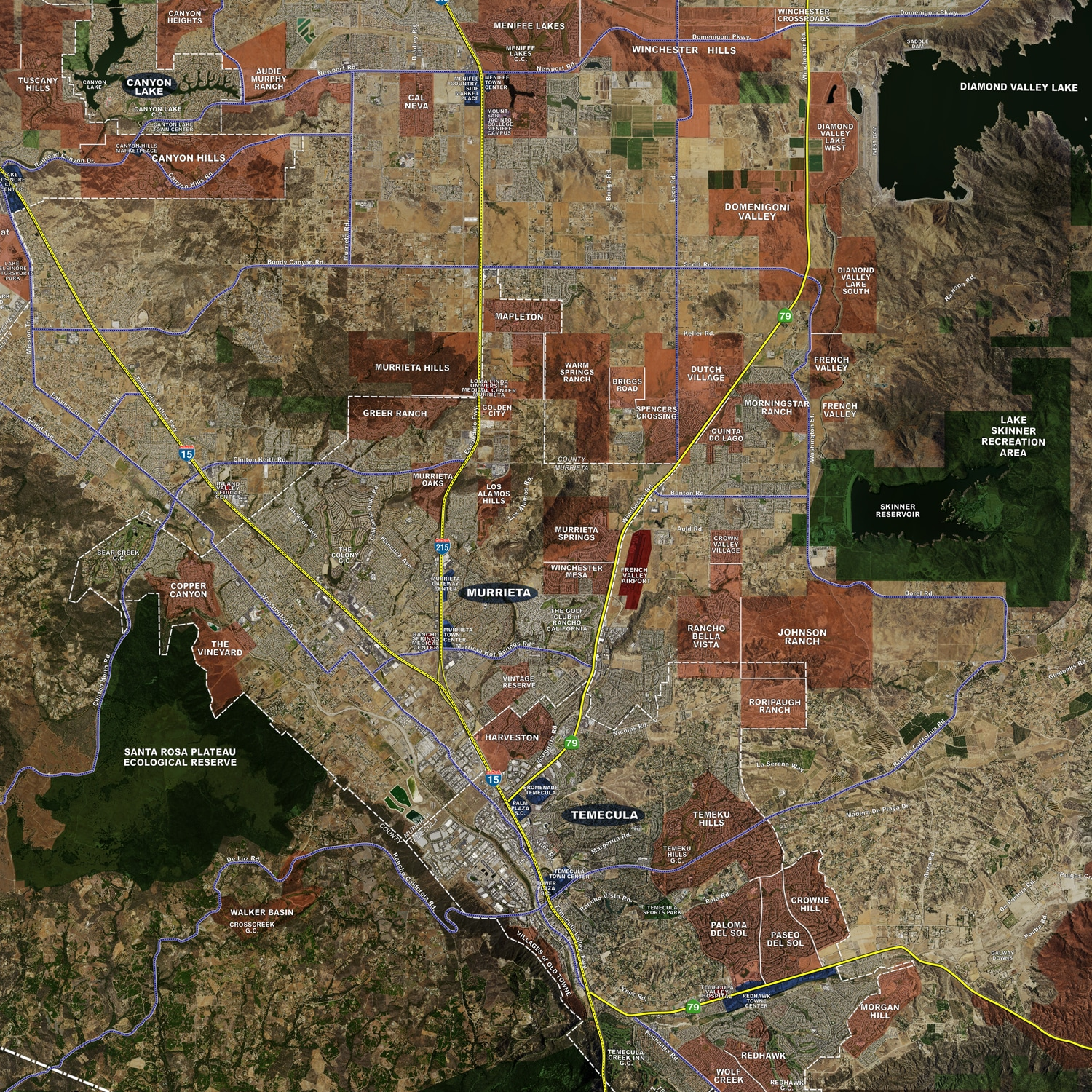 Inland Empire - Aerial Wall Mural on map of the central coast california, map of the piedmont triad, san bernardino, map of the dc metro area, map of the orange county, orange county, map of the san joaquin valley, big bear lake, southern california, map of the imperial valley, imperial county, map of the merced county, map of the san francisco, san fernando valley, imperial valley, map of the san diego, map of the gulf south, map of the san bernardino, map of the gaslamp quarter, map of the greater bay area, map of the sf peninsula, high desert, map of the mojave river, greater los angeles area, coachella valley, san bernardino county, map of the southern border, map of the eastern sierras, ontario international airport, california central valley, san diego county, map of the big sur, map of the rio grande valley, los angeles metropolitan area, riverside county, map of the ida,
