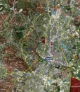 "2017 Austin Rolled Aerial Map – Professional Print Scale (48""x61"")"