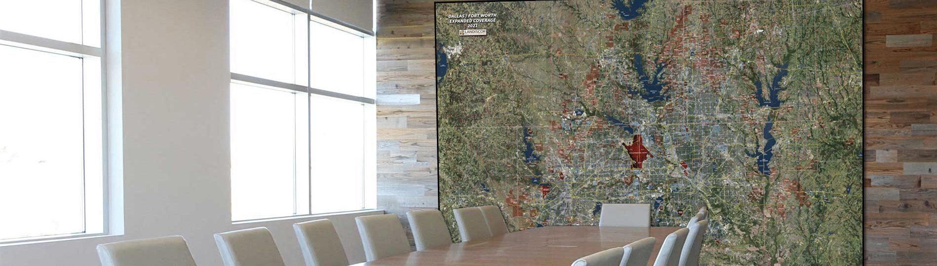 2021-Dallas-Fort-Worth-Aerial-Wall-Mural
